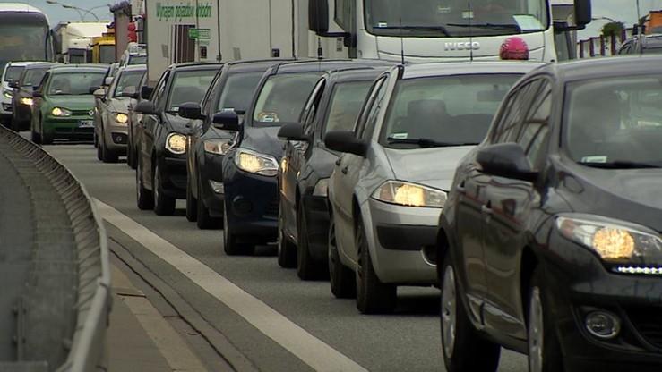Po wypadku wznowiono ruch na Trasie Siekierkowskiej w Warszawie