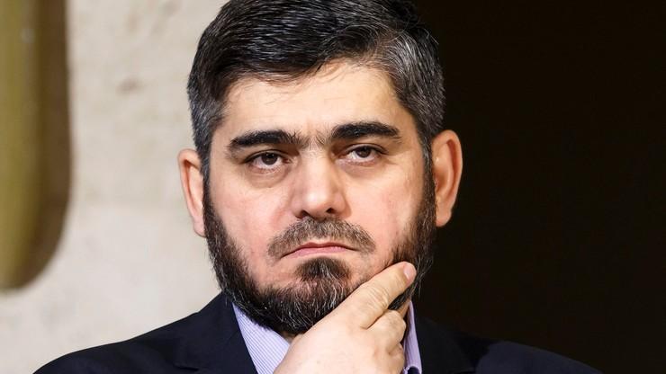 Główny negocjator syryjskiej opozycji rezygnuje z pełnienia funkcji