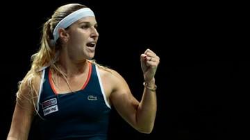 2016-10-29 WTA Finals: Cibulkova zameldowała się w finale