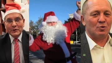 Mikołaj tańczy, politycy śpiewają. PSL nagrało kolędę. Zobacz, jak wyszło