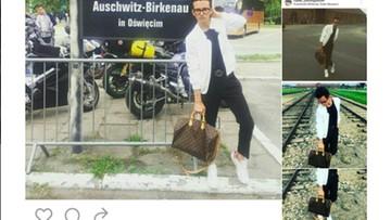 26-08-2016 18:35 Bloger modowy urządził sesję zdjęciową w byłym obozie Auschwitz