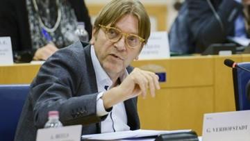12-12-2017 12:41 Verhofstadt: kara dla TVN to powód, by przyspieszyć prace w sprawie Polski