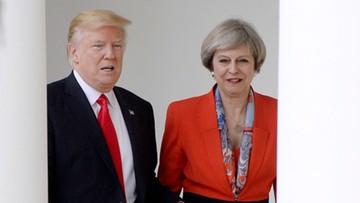29-01-2017 18:33 Brytyjczycy zbierają podpisy przeciwko wizycie Trumpa