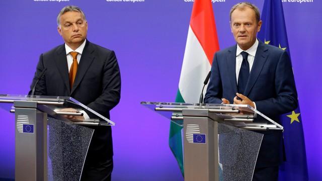 Tusk przestrzega przed podziałem Europy w sprawie migracji