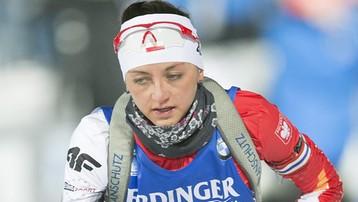2017-12-13 PŚ w biathlonie: Polki bez Hojnisz w Annecy