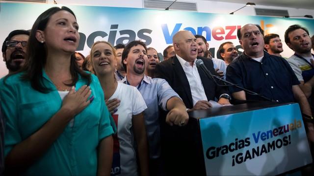 Wenezuela: opozycja wygrała wybory parlamentarne