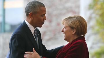 Pożegnalna wizyta Obamy w Niemczech
