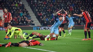 2017-02-13 Premier League: Manchester City bez litości dla Boruca
