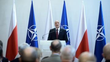 Macierewicz: Polska jest u progu pełnoprawnego członkostwa w NATO