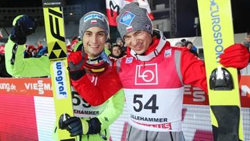 11-12-2016 16:57 Polacy triumfują w Lillehammer. Stoch pierwszy, Kot drugi