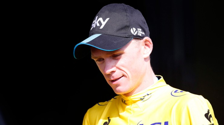 Tour de France: Froome został oblany... moczem