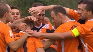 2015-09-06 1 liga: Rozwój Katowice - Chrobry Głogów 0:1. Skrót meczu