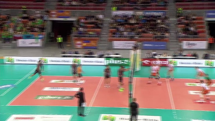 BBTS Bielsko-Biała - Cuprum Lubin 0:3. Skrót meczu