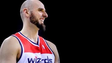 2017-01-20 NBA: Dwanaście punktów Gortata. Czwarte zwycięstwo z rzędu Wizards