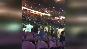 Amatorskie nagranie z momentu wybuchu w hali Manchester Arena