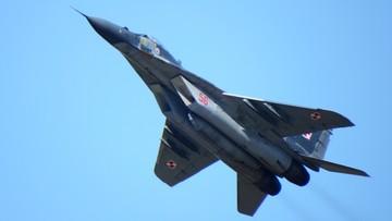 23-08-2016 21:03 Pożar polskiego myśliwca podczas ćwiczeń Anakonda-16. Przyczyną awaria turbostartera