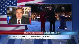 Clinton była skuteczna - zepchnęła Trumpa do narożnika