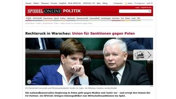 09-01-2016 16:15 Niemieccy politycy domagają się sankcji przeciwko Polsce