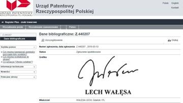 22-02-2016 13:33 Porównaj podpisy: z akt IPN i Lecha Wałęsy z Urzędu Patentowego