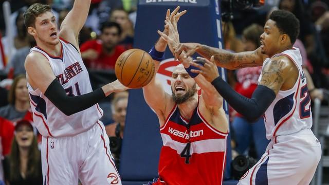 NBA: słaby mecz Gortata, koniec sezonu dla Wizards