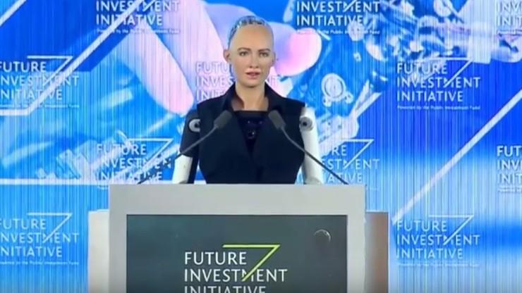 Pierwszy robot humanoidalny otrzymał obywatelstwo saudyjskie