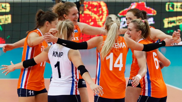 Holandia kolejnym ćwierćfinalistą ME siatkarek