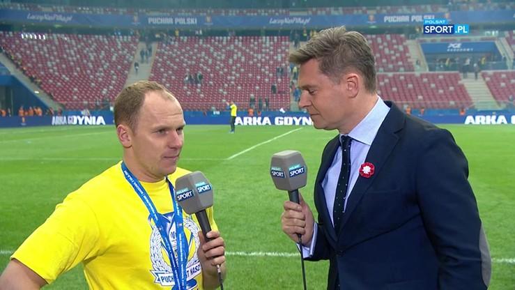 Siemaszko: Wygraliśmy Puchar Polski na przekór wszystkim
