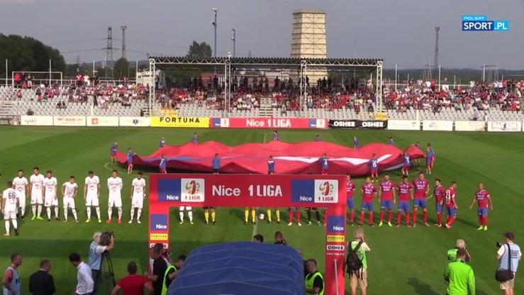 2017-08-29 Raków Częstochowa - Zagłębie Sosnowiec 2:2. Skrót meczu