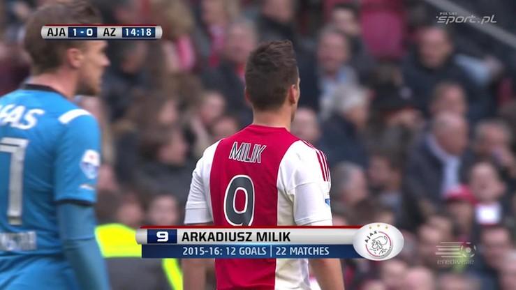2016-02-28 Milik zrobił sobie prezent urodzinowy. Dwunasty gol w sezonie!
