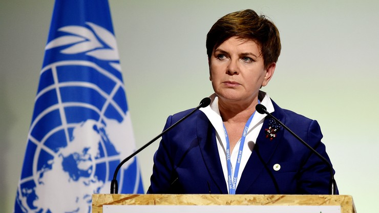 Szydło: globalny wysiłek to dla Polski warunek przystąpienia do umowy klimatycznej