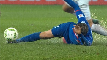 2016-11-06 1 liga: Wymiana ciosów w błocie. Sześć goli w starciu spadkowiczów