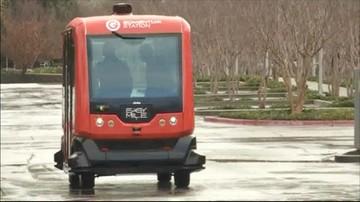 Testy autonomicznego autobusu