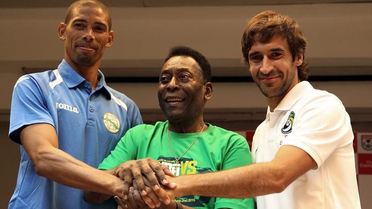 Pele patrzył jak amerykański Cosmos wygrał z Kubą