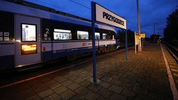Kilkugodzinne opóźnienia pociągów po wichurze w Wielkopolsce