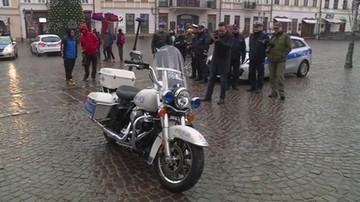 Policjanci w Rzeszowie dostali Harleya-Davidsona