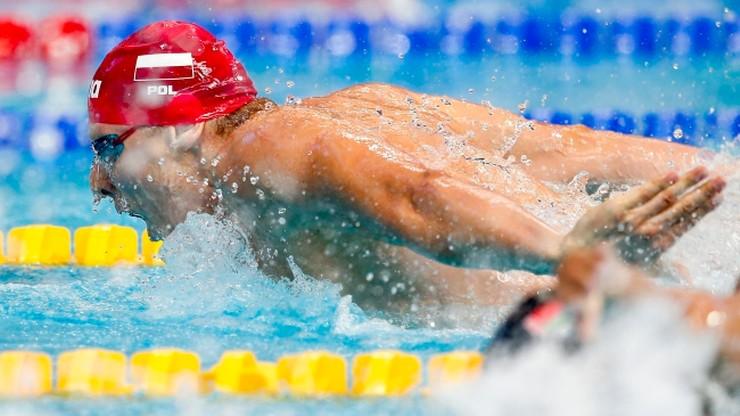 Czerniak szósty, Korzeniowski siódmy na MŚ w pływaniu