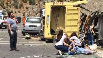 Wypadek autokaru w Turcji. Co najmniej 24 osoby nie żyją