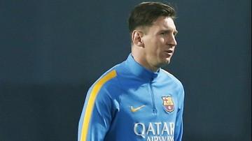 2015-11-21 El Clasico: Messi na ławce rezerwowych