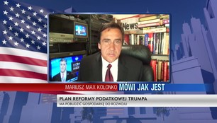 Mariusz Max Kolonko - Donald Trump obniża podatki