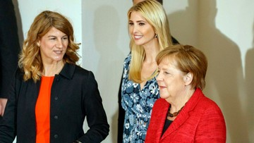 25-04-2017 14:04 Ivanka Trump uczestniczy w forum kobiet w Berlinie