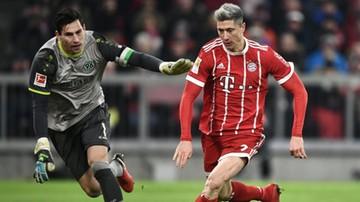 2017-12-02 Bundesliga: Gol Lewandowskiego. Beniaminek sprawił problemy Bayernowi Monachium