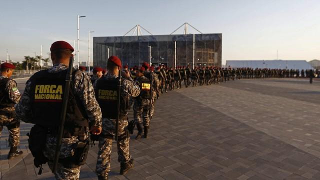 Rio - pierwsze 6000 żołnierzy gotowych do działania