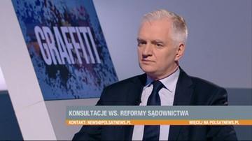 Gowin: szanse na porozumienie ws. reformy sądownictwa oceniam na 80 procent