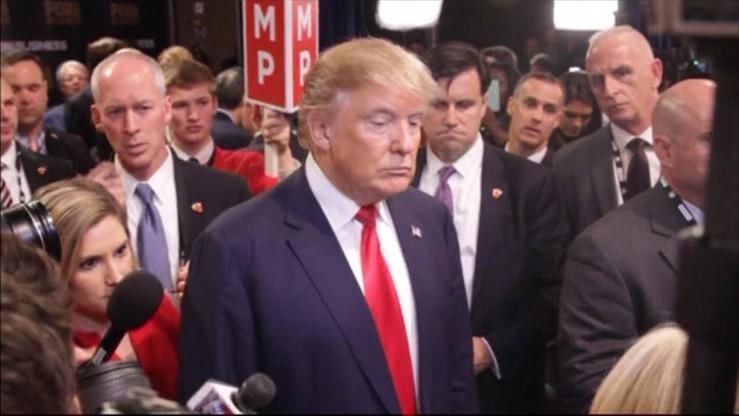 Źle urodzeni - ostry spór Trumpa i Cruza podczas debaty prezydenckiej republikanów
