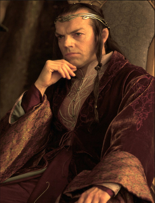 Hugo Weaving jako Elrond