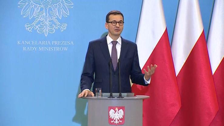 Morawiecki: mój ojciec ma ciekawe poglądy, ale nie zmienia to ani na jotę stanowiska rządu ws. uchodźców