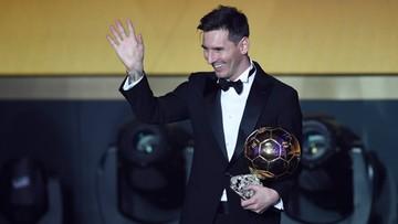 11-01-2016 21:14 Messi po raz piąty najlepszym piłkarzem świata