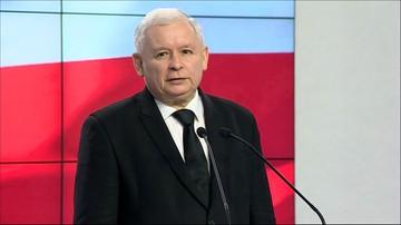 """24-03-2016 12:18 Kaczyński apeluje o zaprzestanie walk politycznych. """"Przynajmniej do końca wizyty papieża w Polsce"""""""