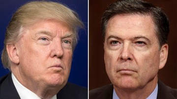 10-07-2017 18:56 Trump: były dyrektor FBI J. Comey ujawnił tajne informacje