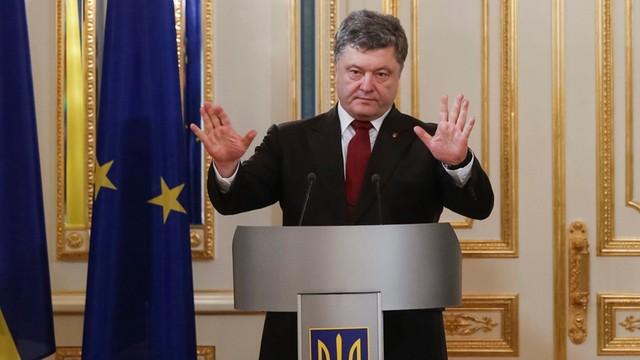 Prezydent Ukrainy: Trybunał ws. zestrzelenia malezyjskiego Boeinga, by ukarać sprawców